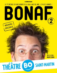 bonaf - affiche spectacle paris