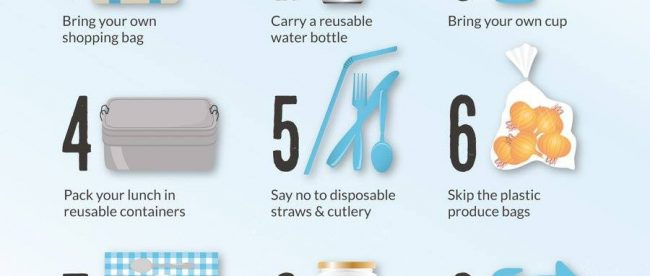 infographie - pollution du plastique