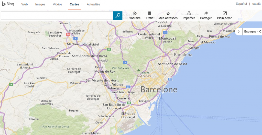 alternatives google maps bing