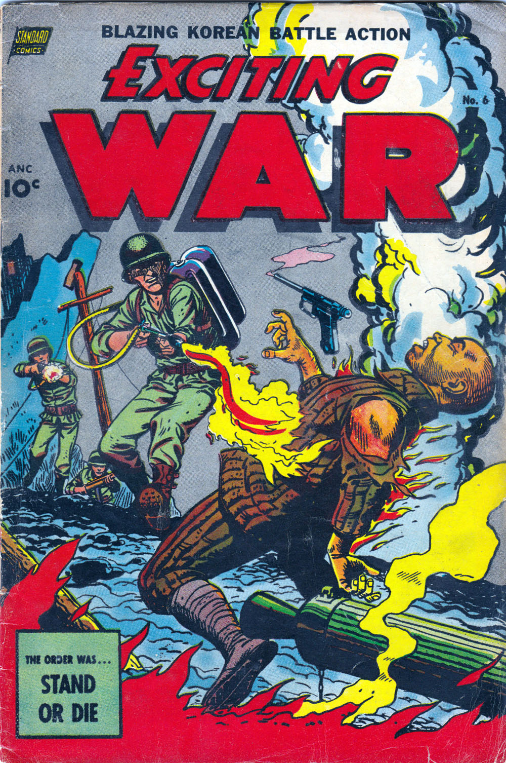 Exciting War - comics US