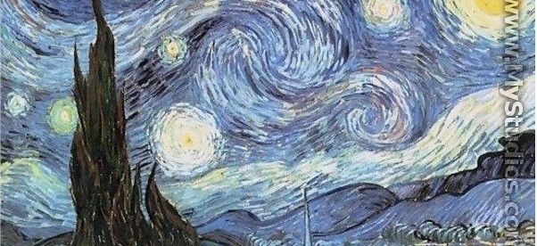 Starry Night by Vincent Van Gogh - MyStudios.com - Mozilla Firefox
